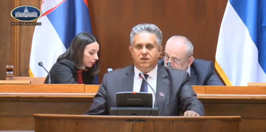 Miletić, foto: Parlament