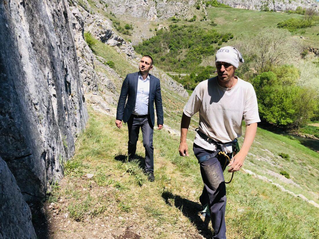 Marković u poseti Niševcu, foto: M.M.