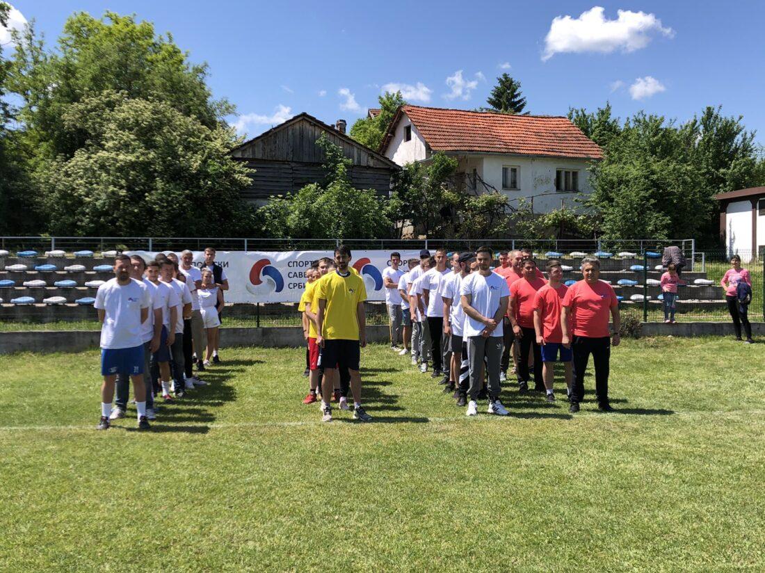 Učesnici seoskih igara, foto: M.M.