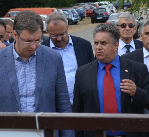 Milija Miletić i Aleksandar Vučić, foto: M.M.