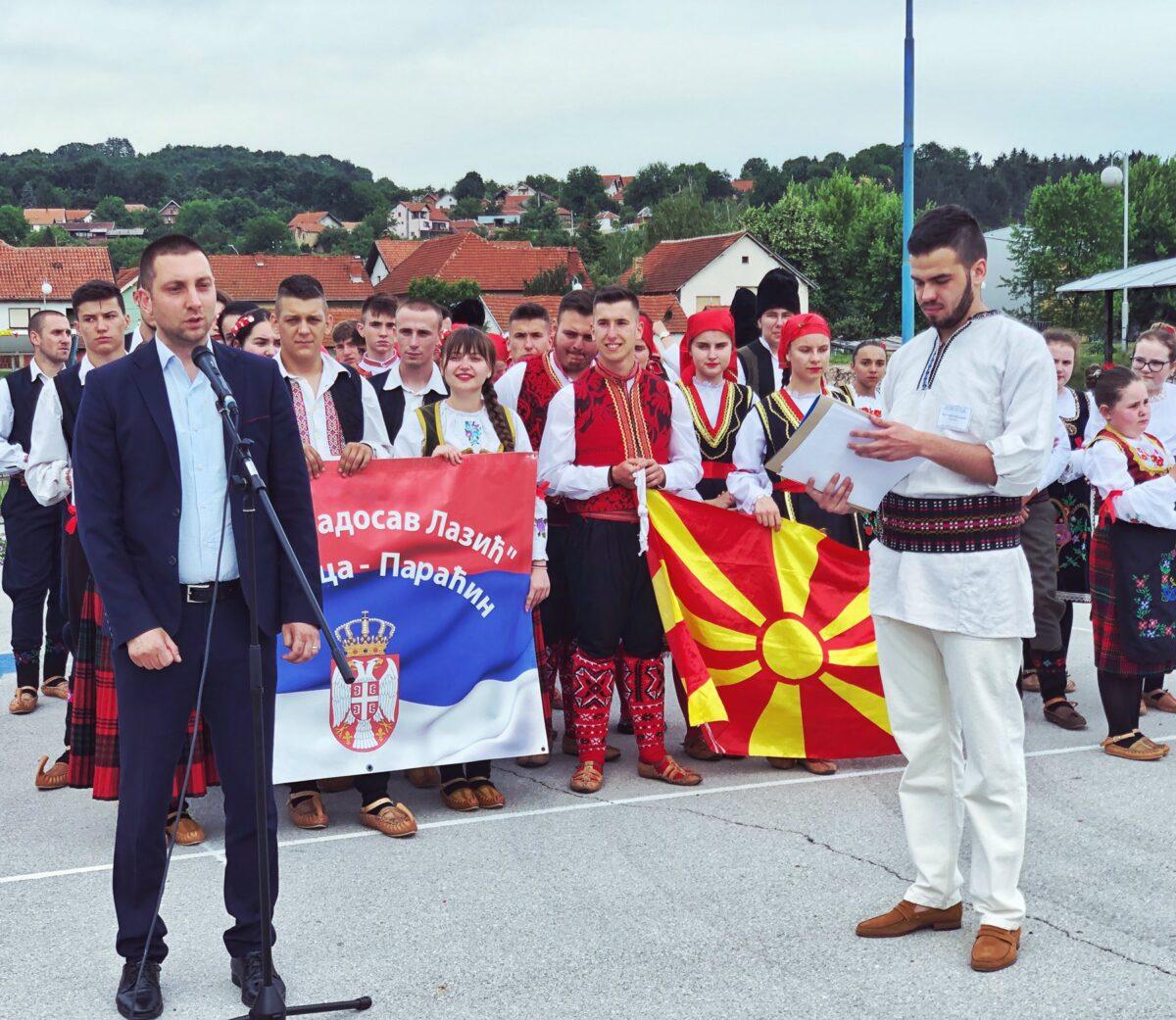Obraćanje predsednika opštine, fotografija: Svrljiške novine, sva prava zadržana