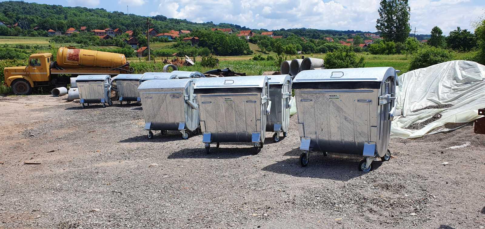 Novi kontejneri, foto: M.M.