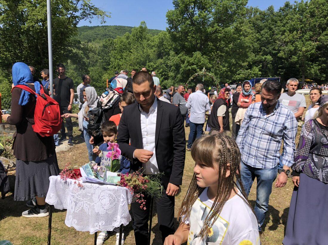 Predsednik Marković posetio Labukovo, foto: M.M.