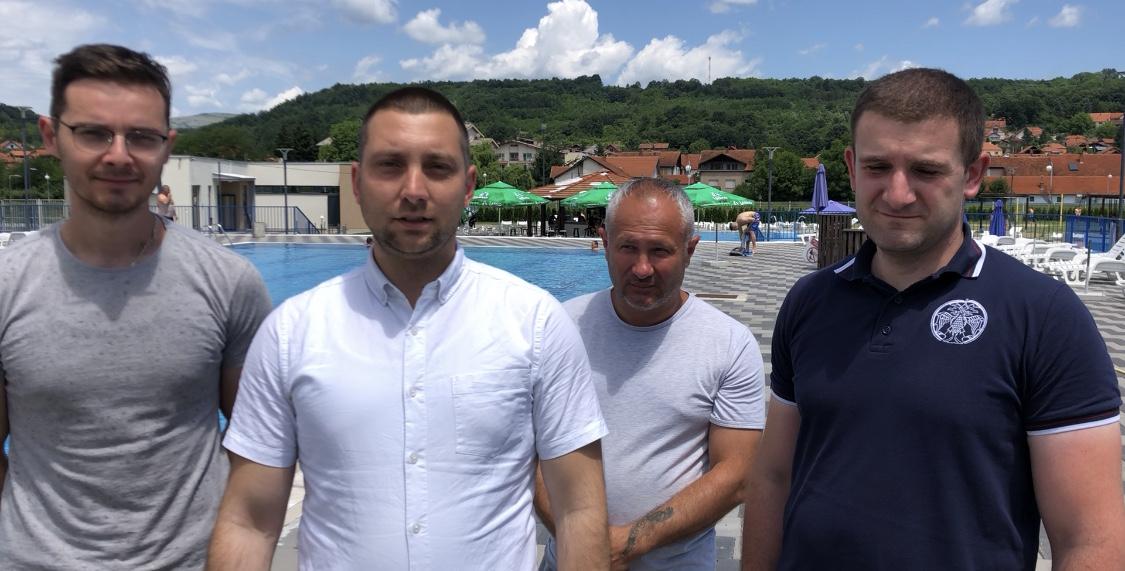 Predsednik opštine posetio bazen i pozvao turiste da posete Svrljig, foto: M.M.
