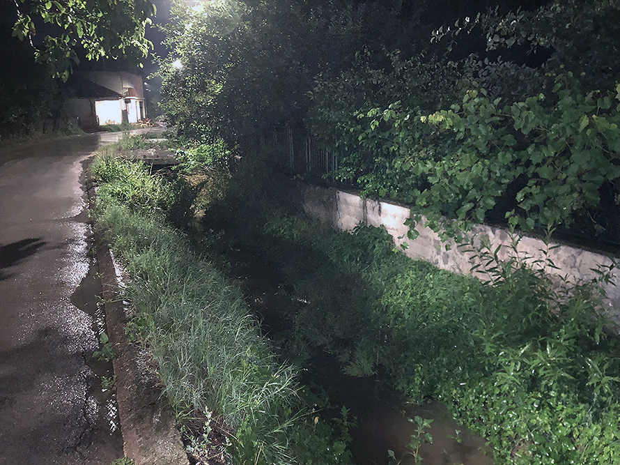 LUkavički potok miruje, foto: M.M.