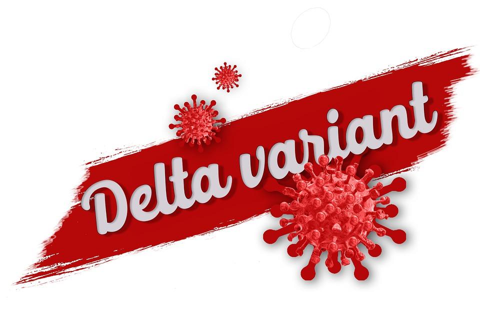 Ilustracija, delta soj, pixabay.com