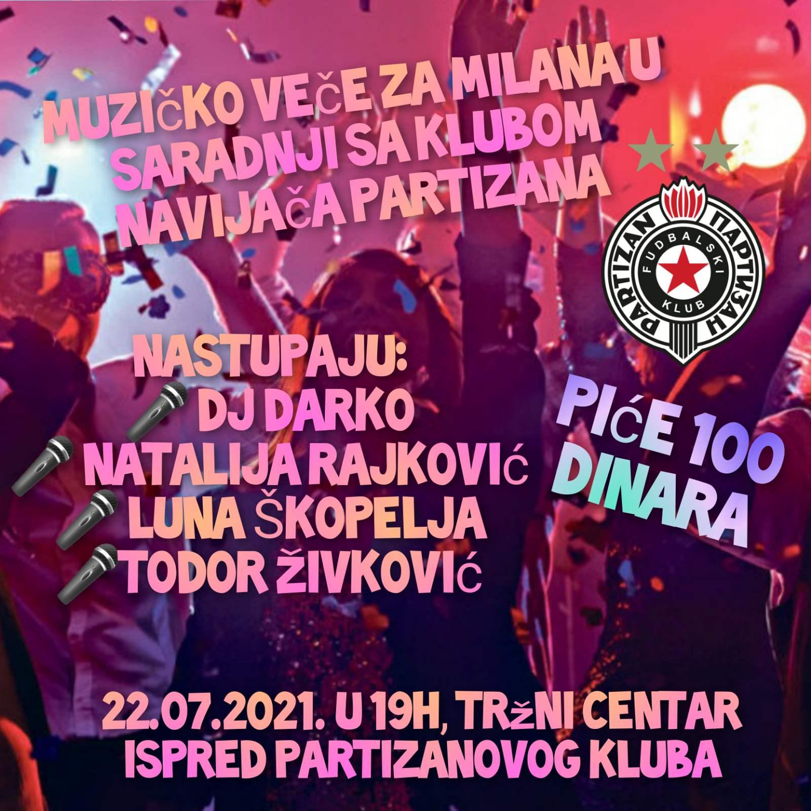 Foto: Klub navijača Partizana