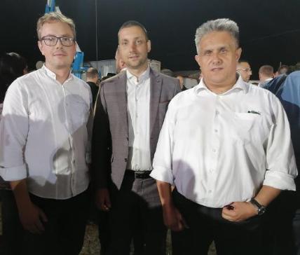 Pejčić, Marković i Miletić, foto: Privatna arhiva