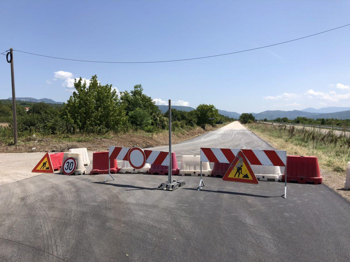 Radovi na putu, foto: M.M.