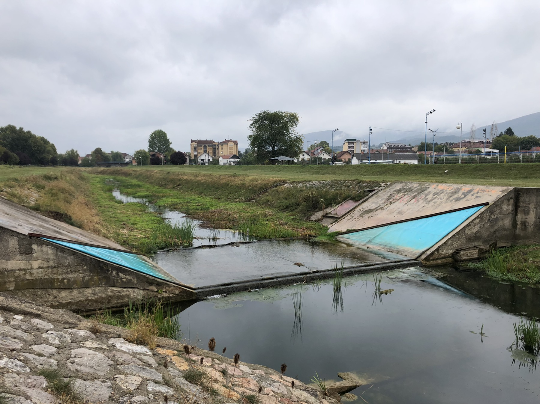 Brana, reka Svrljiški Timok, foto: Svrljiške novine