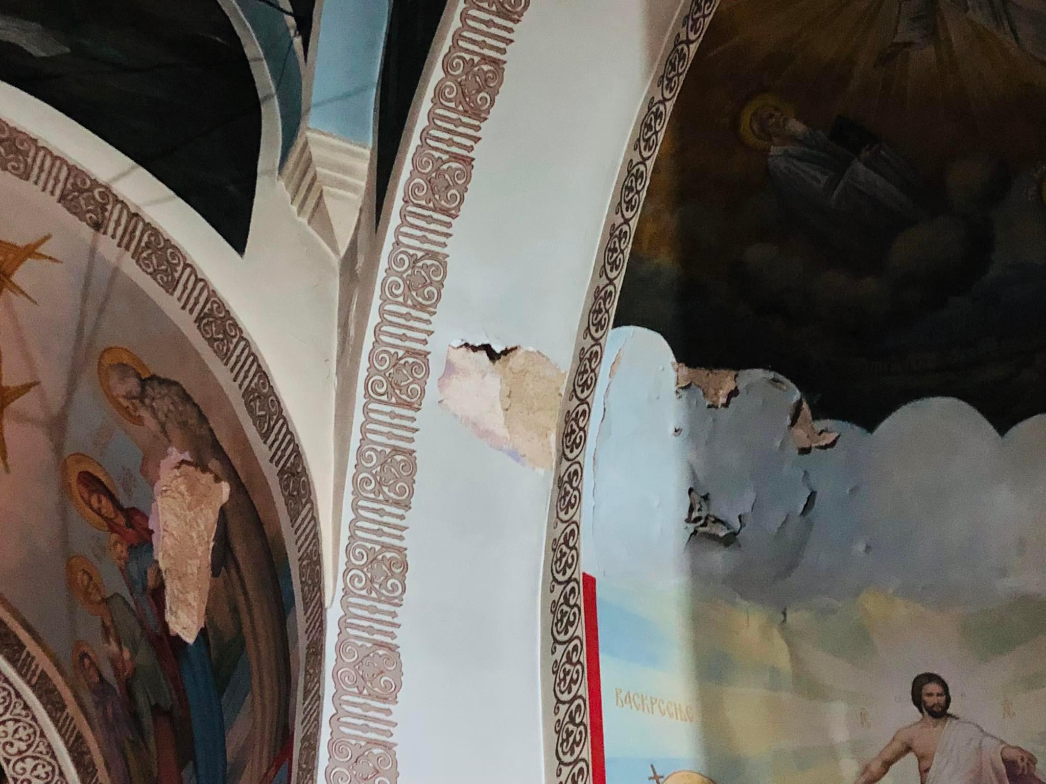 Freske u crkvi Svetog cara Konstantina i carice Jelene, foto: M.M