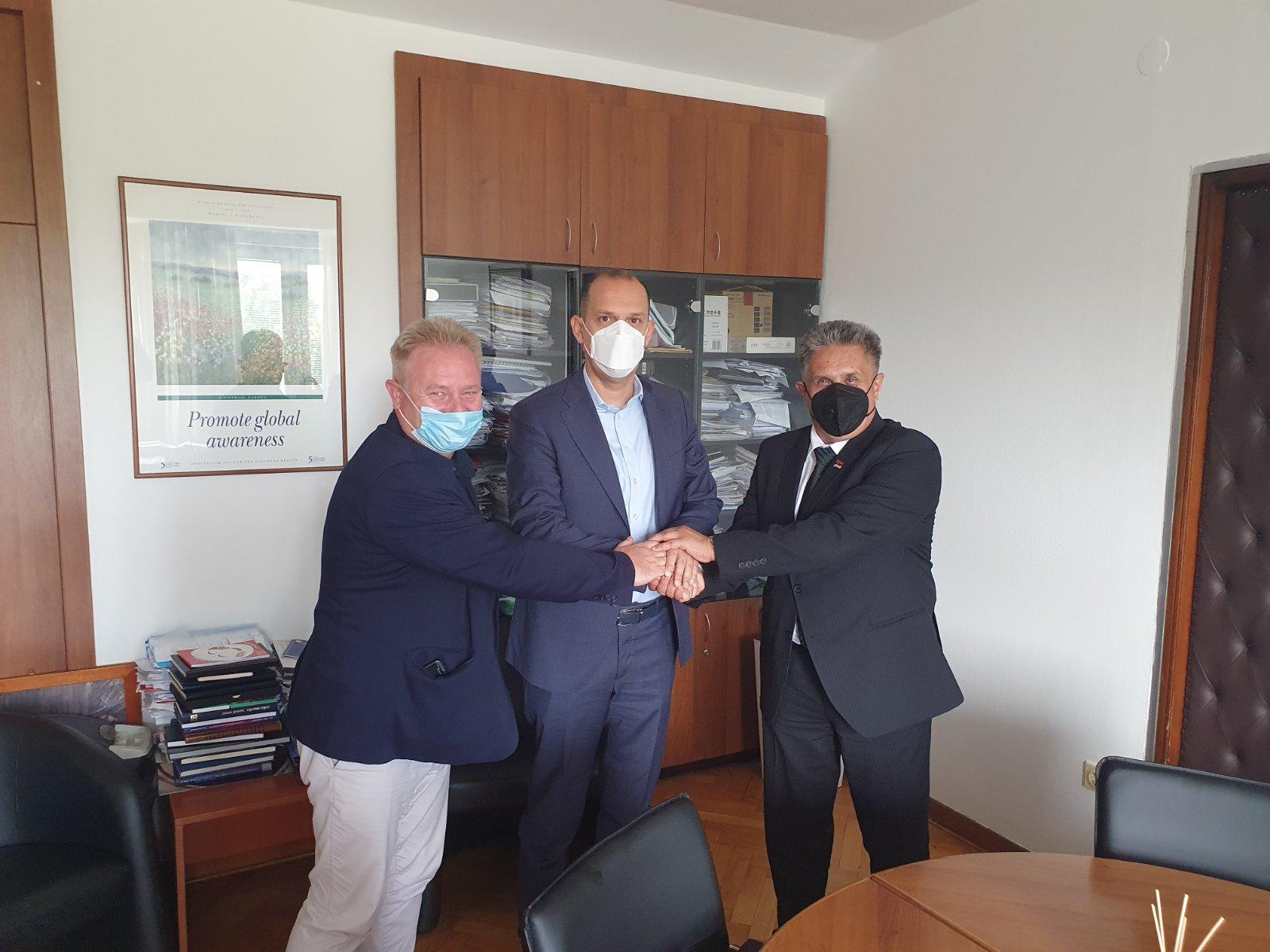 Sastanak sa ministrom, foto: Dom zdravlja