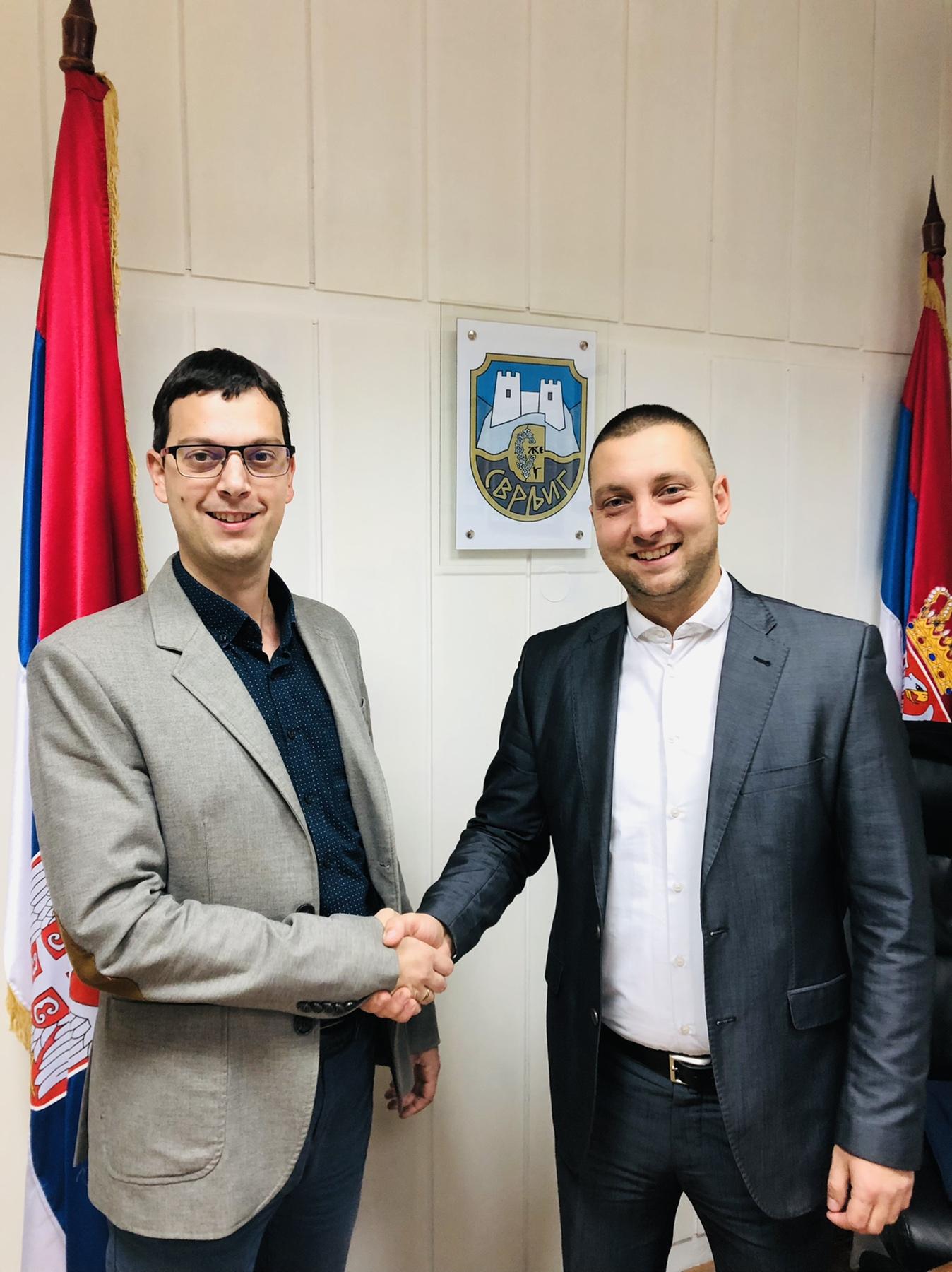 Mihajlović i Marković, SNS i USS, foto: M.M.