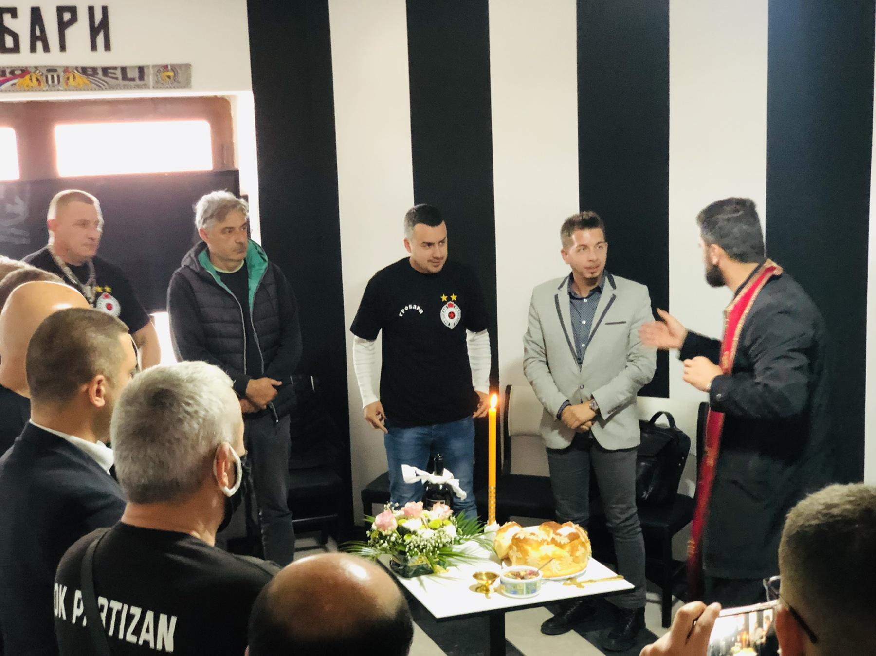 Klub navijača Partizana, foto: M.M.