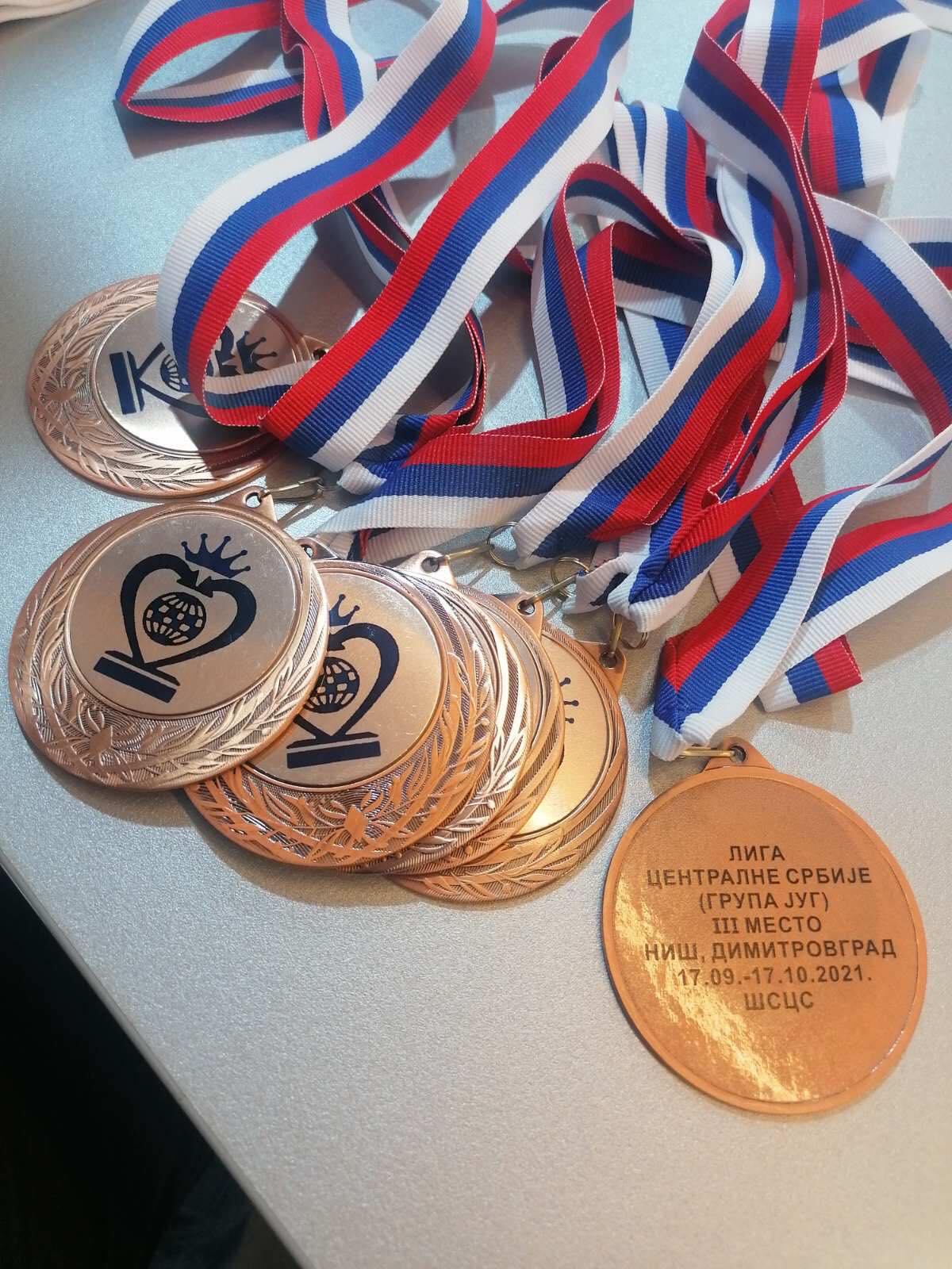 Medalje za najbolje, foto: ŠK ,,Svrljig'', autor: I.M.