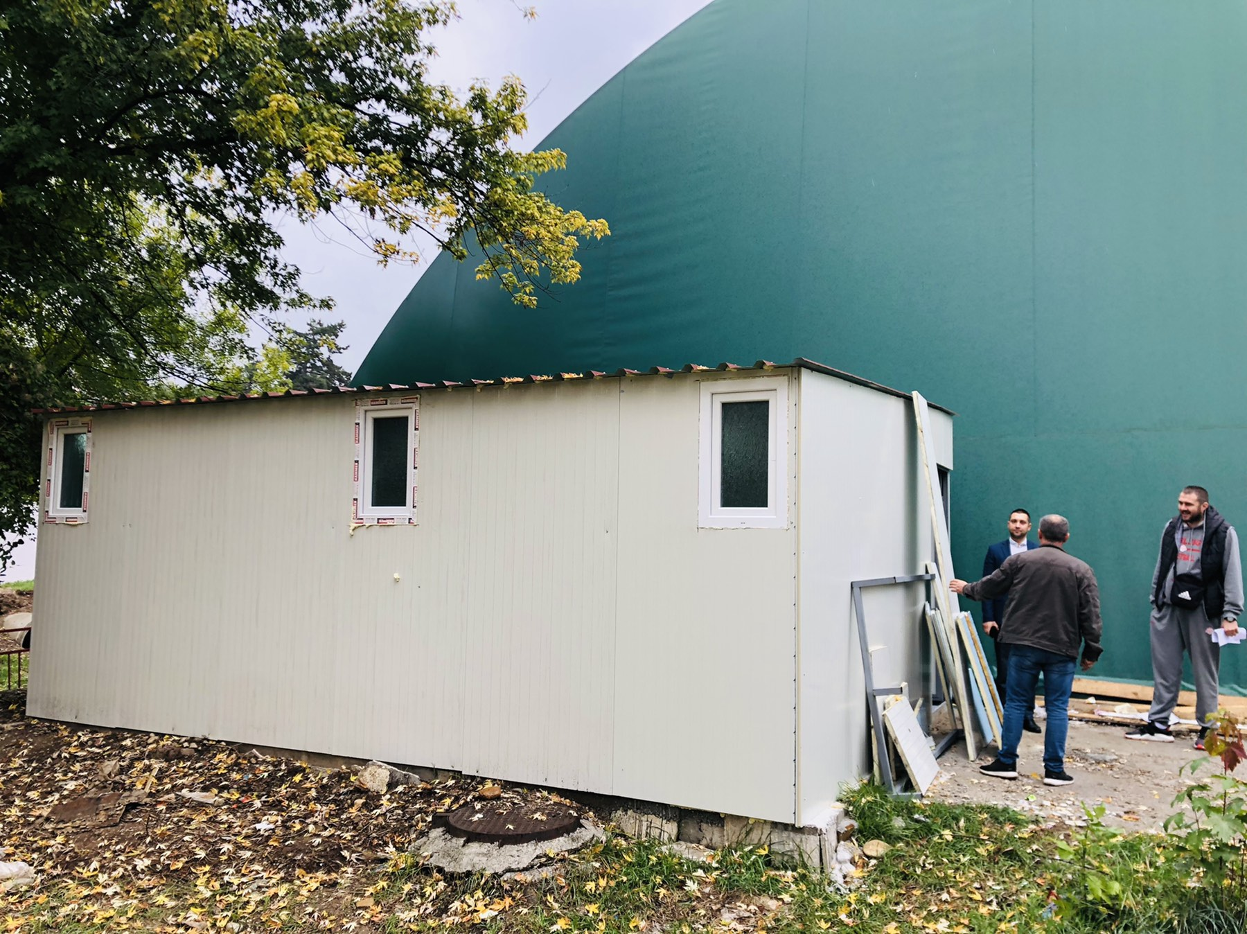Balon sala dobila svlačionice i toalet, foto: M.M.