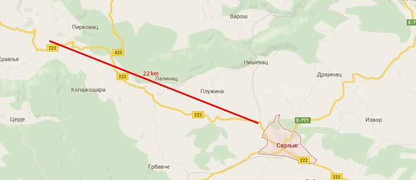 Put koji će biti asfaltiran u naredne tri faze, sve do Svrljiga.