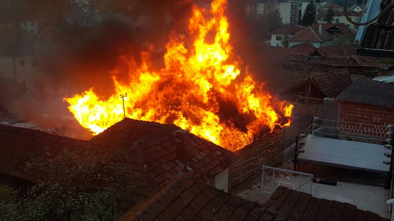 POTRESNA PRIČA: U požaru gorela stoka (FOTO/VIDEO)
