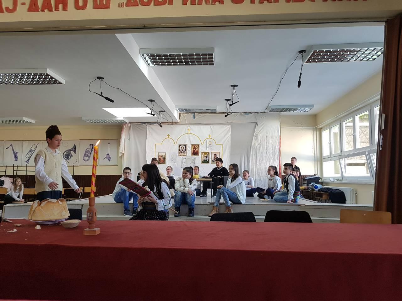 Obeležavanje Sv. Save u Osnovnoj školi u Svrljigu
