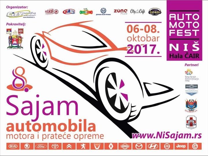 """Auto moto fest"" Niš 2017. održava se od 6. do 8. oktobra"