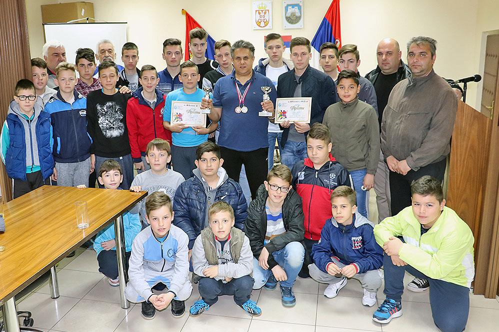 Fudbaleri ŠF ''Aca Menta'' među najboljima 2