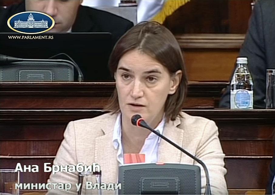 Ministarka Ana Brnabić pohvalila rad Opštine Svrljig