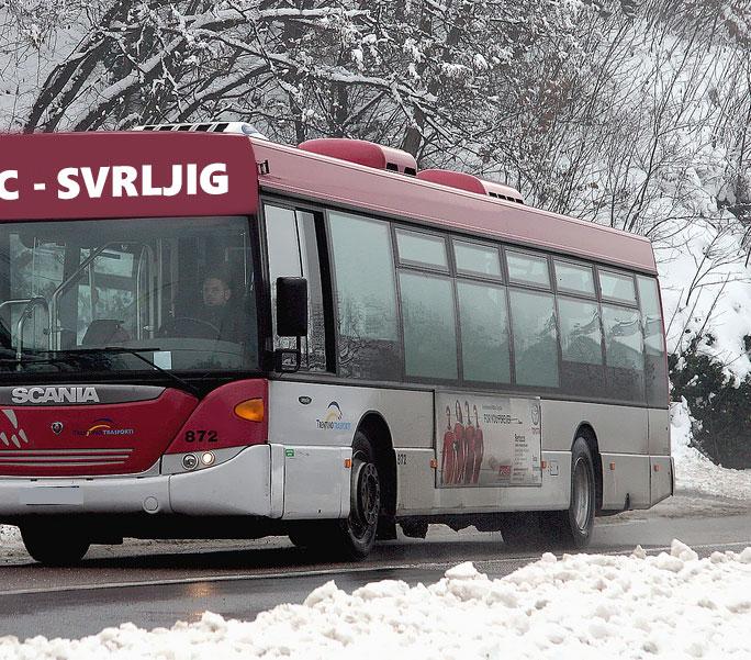 Danas otkazane autobuske linije do Grbavča, Prekonoge i Ribara