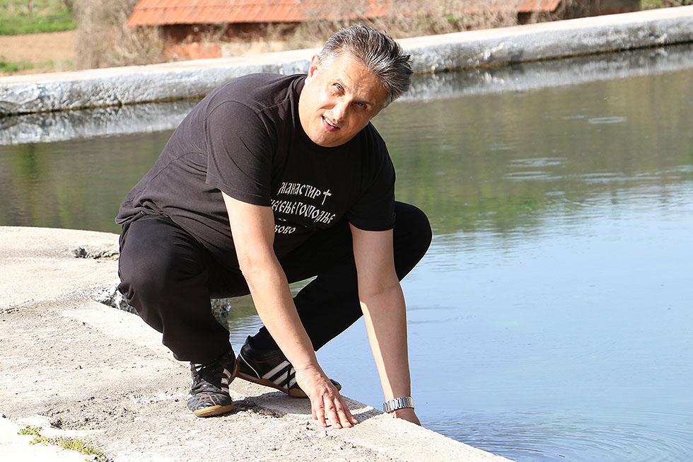 Miletić obišao prirodni bazen u Popšici