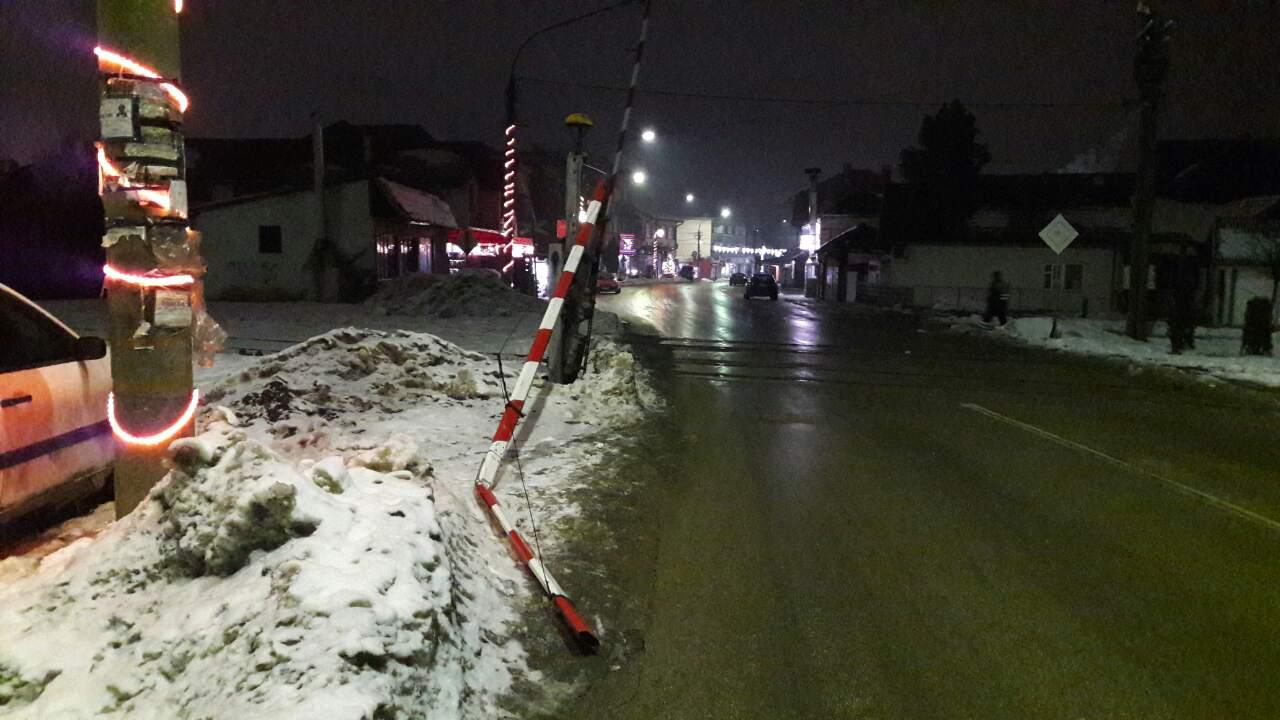 Oprez! Polomljena rampa u Svrljigu (FOTO)