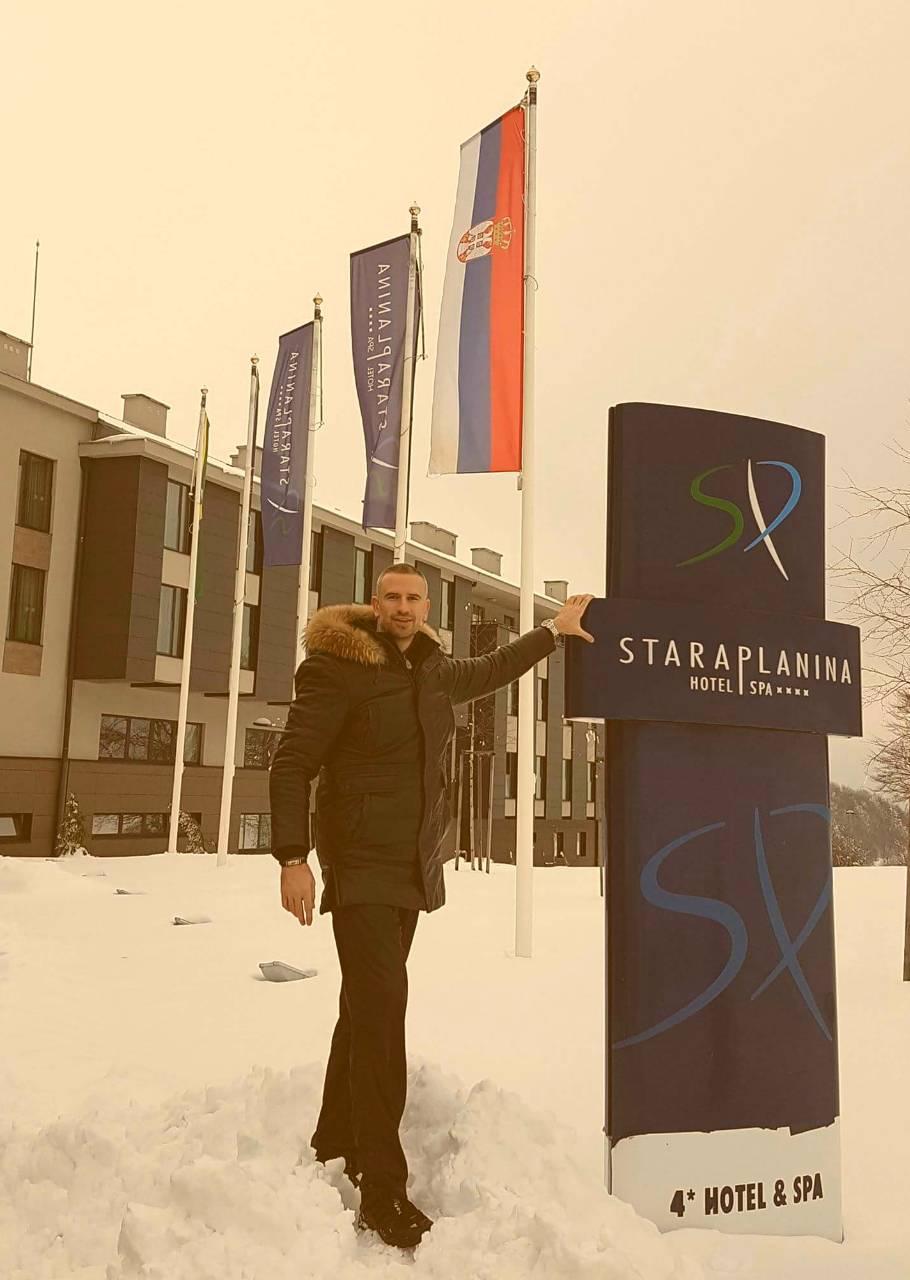 """Direktor državne kompanije """"Stara planina Resort"""" Goran Karadžić, promoter Stare planine i turizma u ovom delu Srbije, foto: Privatna arhiva"""