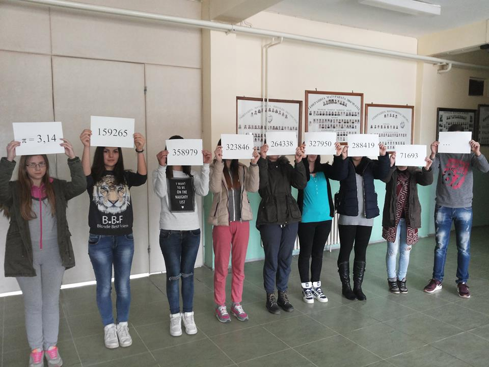 Učenici Srednje škole u Svrljigu obeleželi Međunarodni dan broja pi