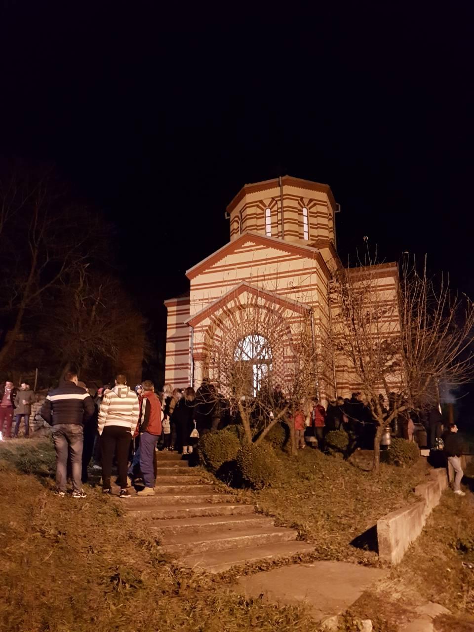 Badnje veče u Drajincu