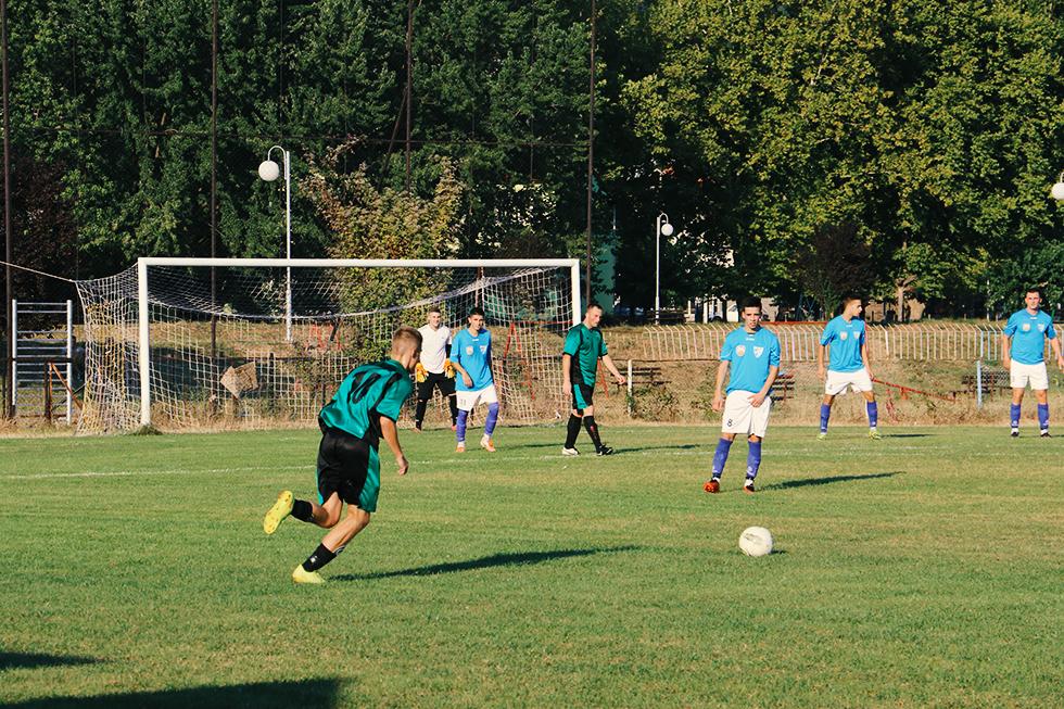 Detalj sa utakmice FK ''Svrljig'' - ''Majdanpek'', foto: M. Miladinović, Svrljiške novine