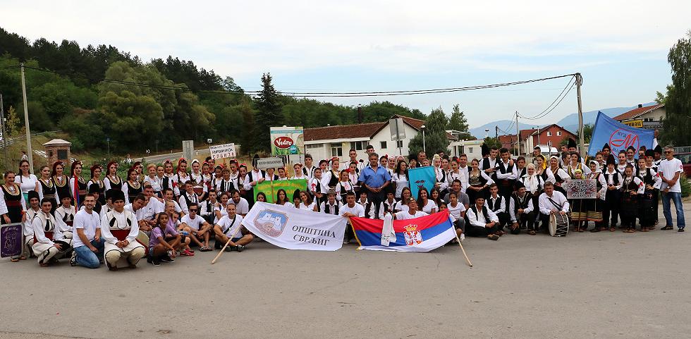 Deo učesnika na manifestaciji, foto: M. Miladinović, Svrljiške novine