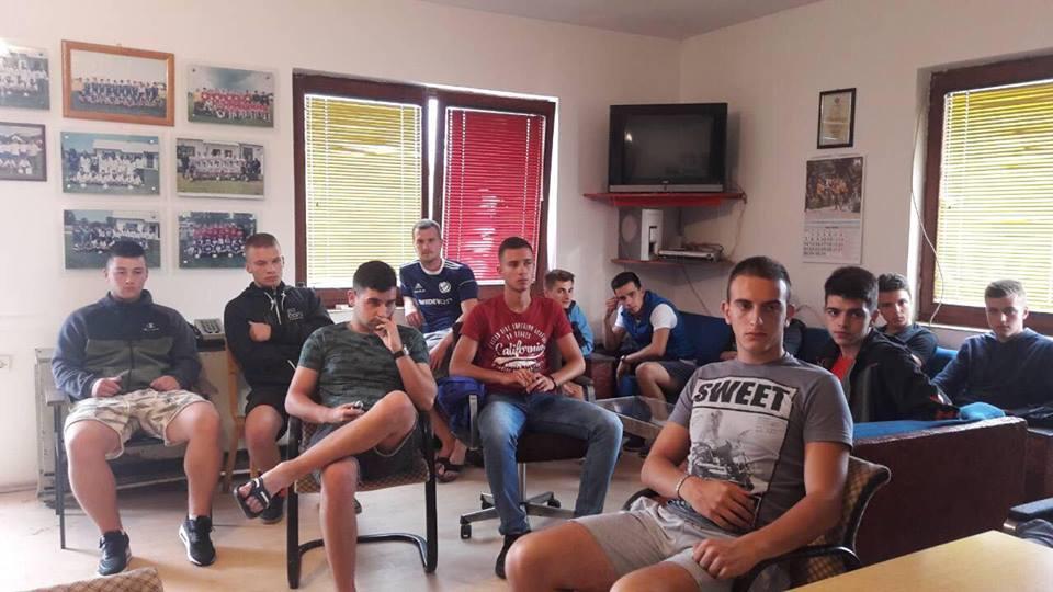 Fudbaleri FK Svrljig