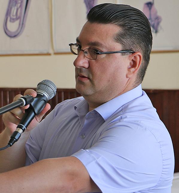 Direktor O.Š. ''Dobrila Stambolić'' Saša Golubović