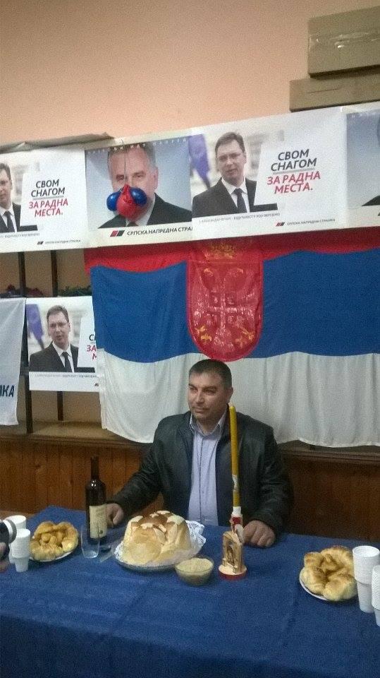 Goran Jeremijić, predsednik SNS-a u Svrljigu, foto: M.M.