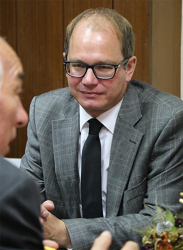 Jerg Heskens u razgovoru sa predstavnicima lokalne samouprave