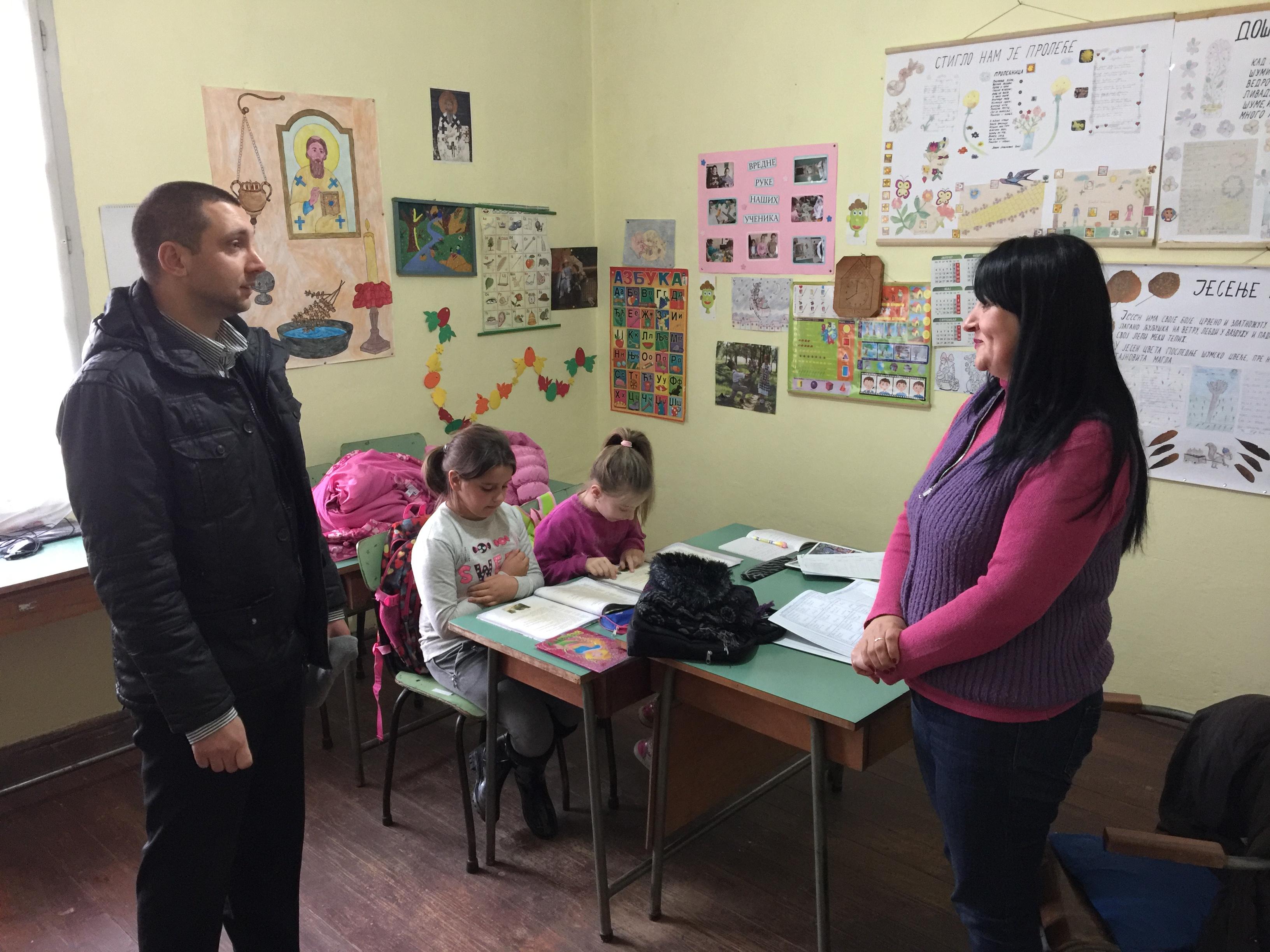 Bolji uslovi rada za učenike na seoskom području