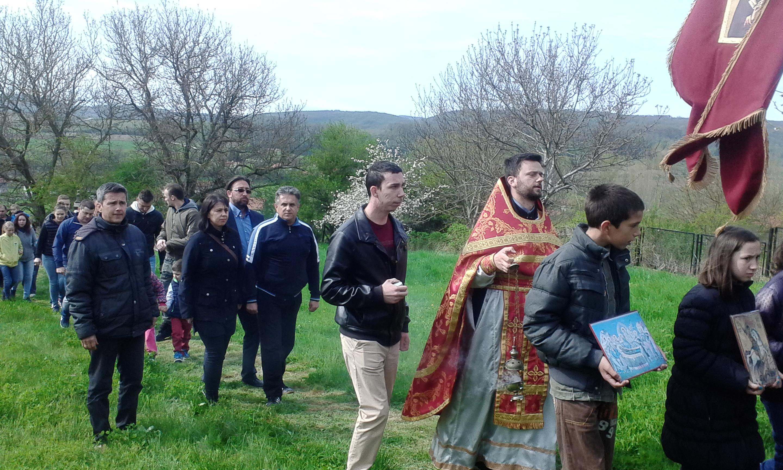 Litija povodom Uskrsa u selu Lalinac 2