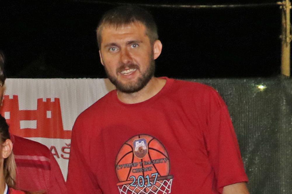 Trener KK ''Svrljig'' Igor Radivojević, foto: M. Miladinović, Svrljiške novine