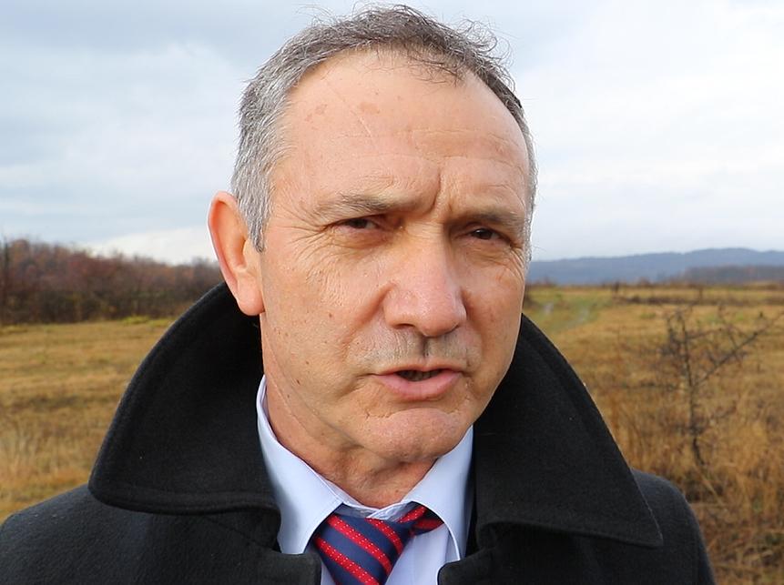 Predsednik opštine Sokobanja Isidor Krstić