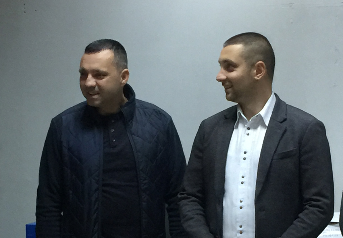 Ivan Minić i Miroslav Marković, foto: M. Miladinović