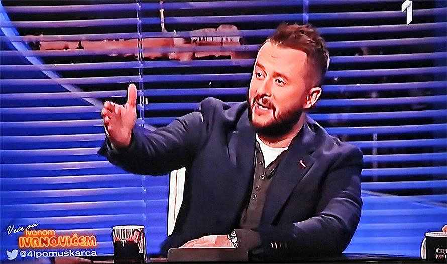 """Izjava o Kurcu završila u emisiji """"Veče sa Ivanom Ivanovićem"""""""
