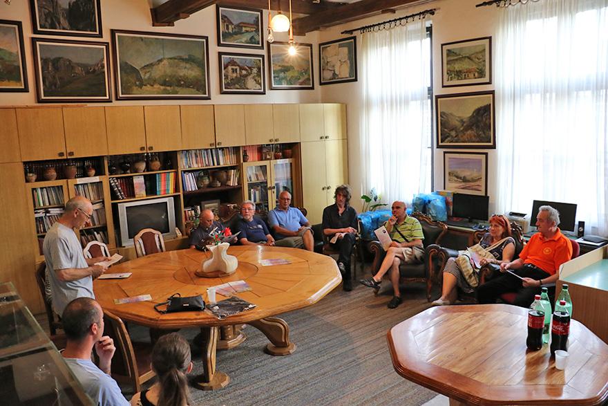 Izložba knjiga i tekstova o Svetom Savi u Centru za turizam, kulturu i sport