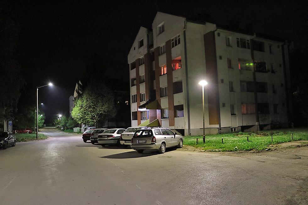 Nova javna rasveta u ulici Prvomajskoj