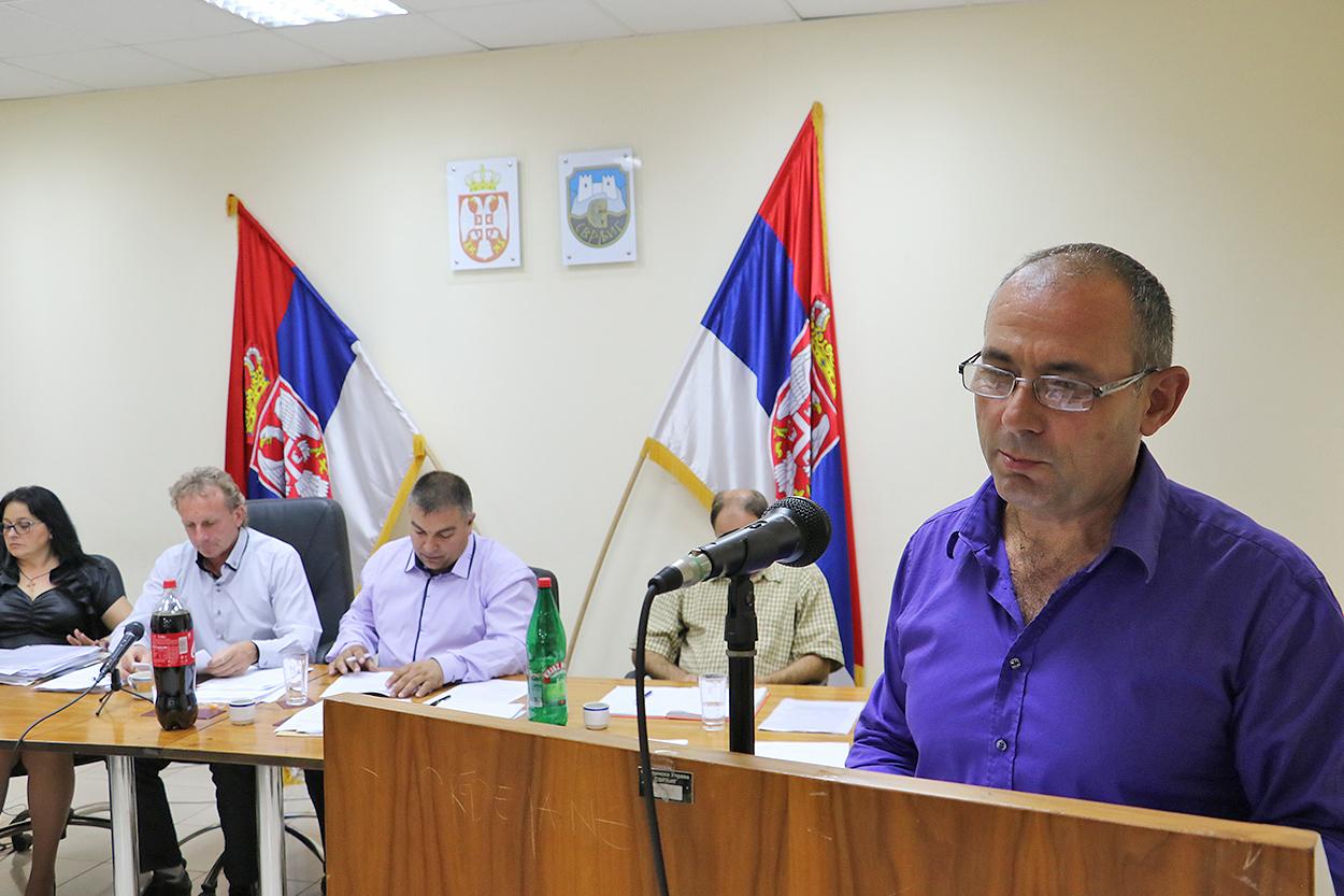 Novoizabrani direktor JKSP ''Svrljig'' Jovan Đorđević, foto: M. Miladinović