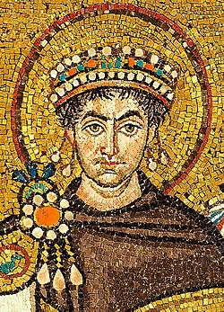 Justinijan I na mozaiku u baziliki San Vitale u Raveni, Italija, foto: Wikipedia
