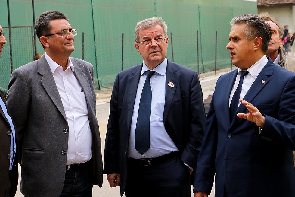 Arsić, Karić i Miletić, foto: M. Miladinović