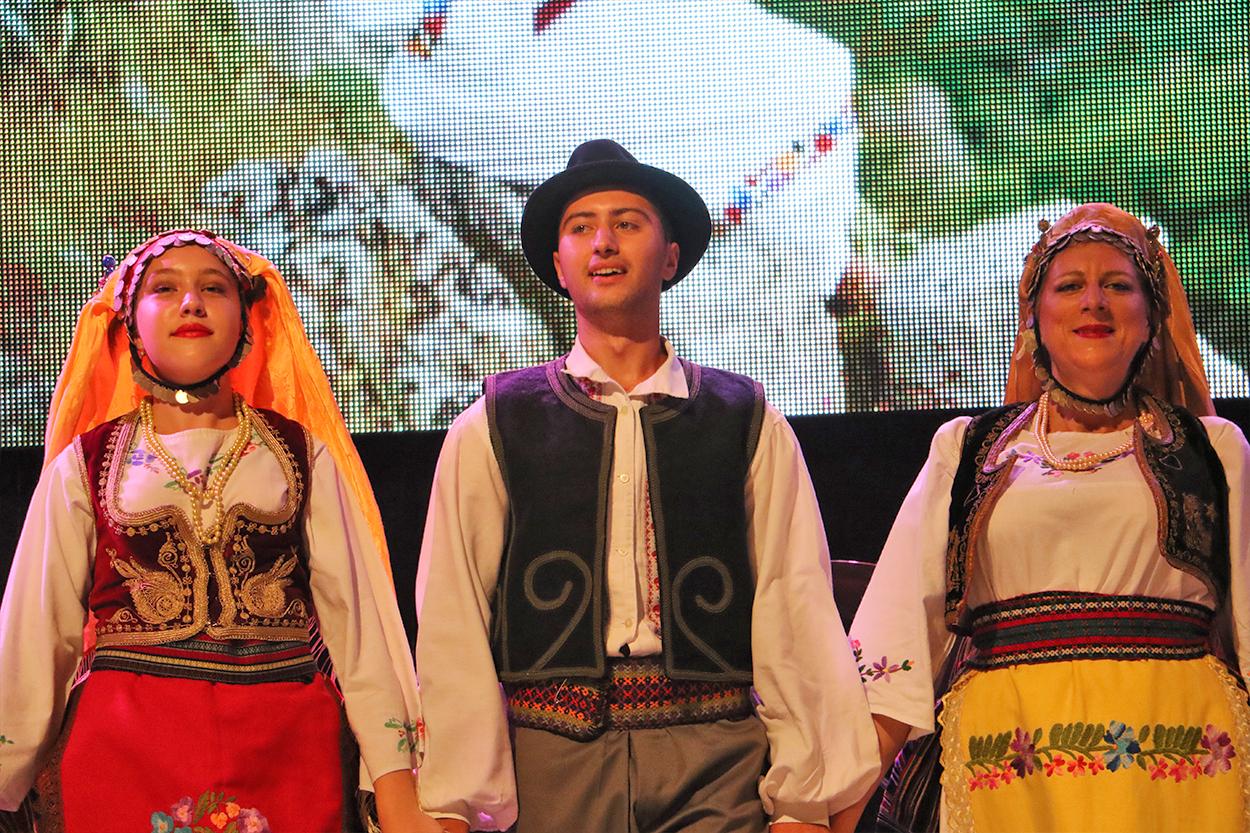 Kulturno-umetnički program na ''Belmužijadi'', foto: M.M. / Svrljiške novine